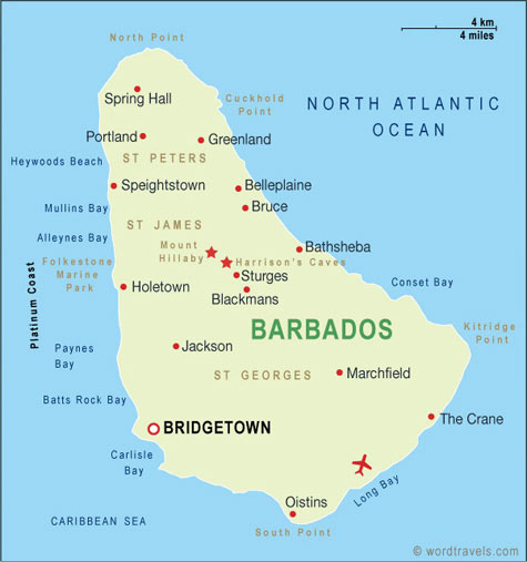 a history and geography of barbados country Page with information and facts about barbados  continent – north america region – caribbean size – 431 km² geography – mostly flat central highland region.
